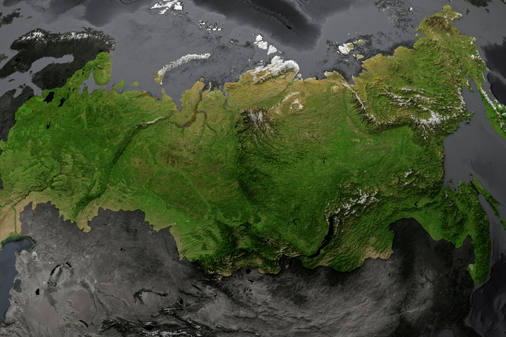 всех природных территория рф на карте мира фото это